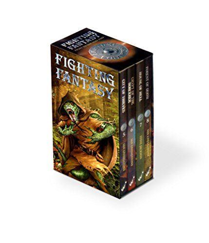 Fighting Fantasy Box Set: Gamebooks 5-8 (City of Thieves, Crypt of the Sorcerer, House of Hell, ...