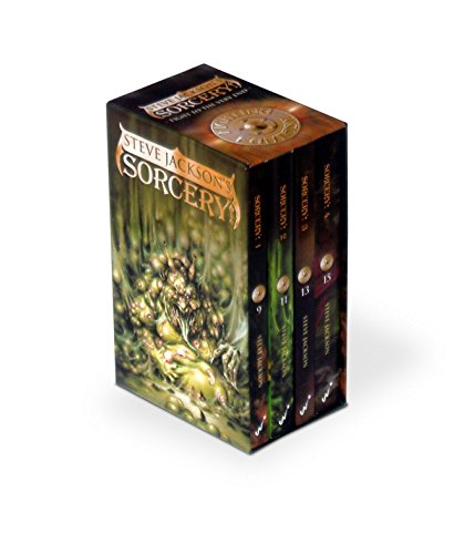 9781840464993: Fighting Fantasy Sorcery Box Set: Sorcery 1-4 (the Shamutanti, Khare - Cityport of Traps, the Seven Serpents, the Crown of Kings)