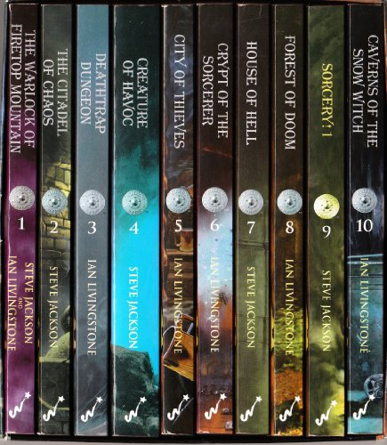 9781840465488: Fighting Fantasy (Vols 1 to 10 - Boxed Set)