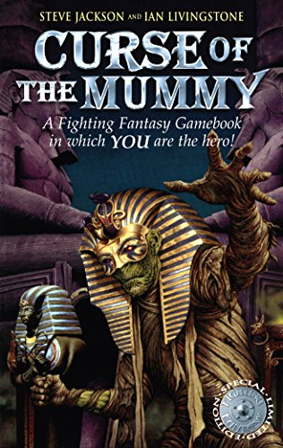 9781840468021: Curse of the Mummy (Fighting Fantasy)