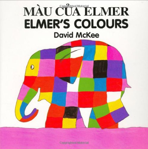 9781840590616: Elmer's Colours (English–Vietnamese) (Elmer series)