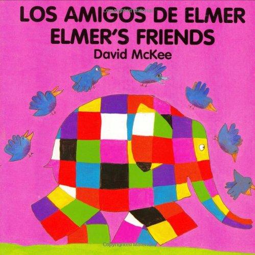 9781840590722: Elmer's Friends (spanish-english): Amigos De Elmer