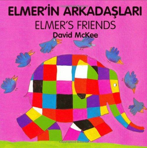9781840590739: Elmer's Friends (English–Turkish) (Elmer series)