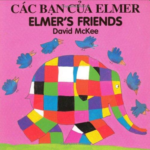 9781840590753: Elmer's Friends (English–Vietnamese) (Elmer series)