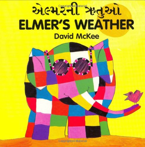 9781840590784: ELMER'S WEATHER (Gujarati-English)