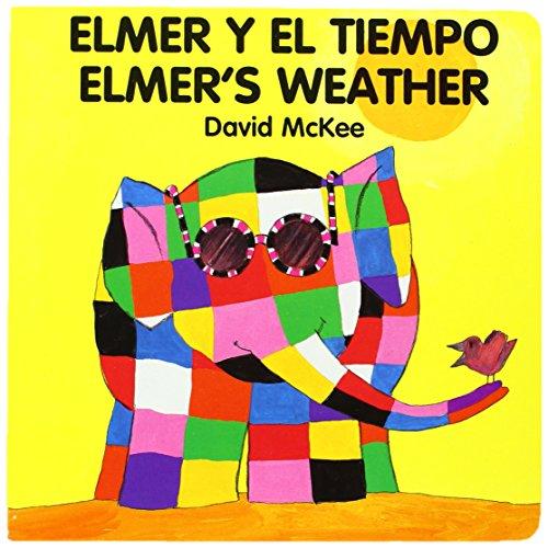 9781840590791: Elmer's Weather/Elmer Y El Tiempo