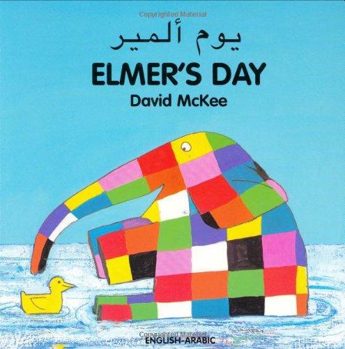 Elmer's Day (English�Arabic) (Elmer series): McKee, David