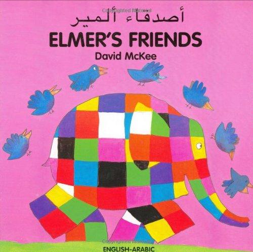 9781840594010: Elmer's Friends (English–Arabic) (Elmer series)
