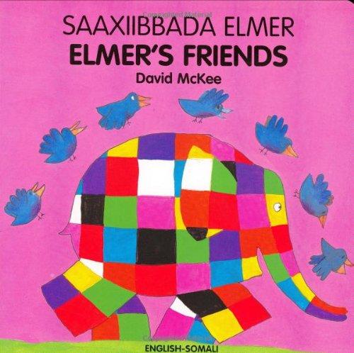 9781840594034: Elmer's Friends (arabic-english) (Elmer Board Books)