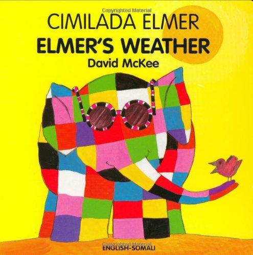 9781840594065: ELMER'S WEATHER (Somali-English)
