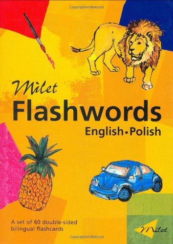 9781840594867: Milet Flashwords (English–Polish) (Milet Flashwords series)