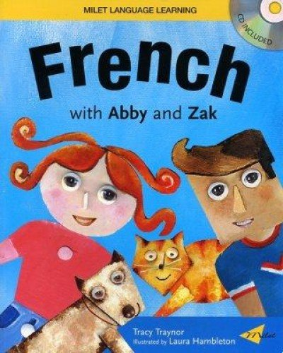 9781840594904: French with Abby and Zak