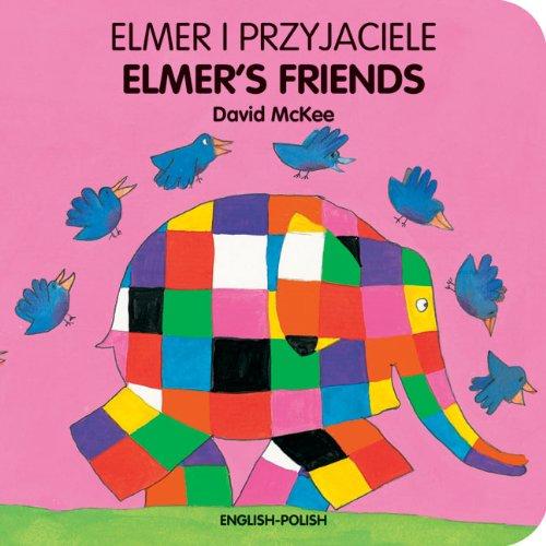 9781840595338: Elmer's Friends (English–Polish) (Elmer series)