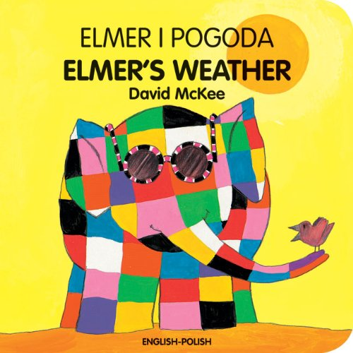 9781840595345: Elmer's Weather (English-Polish) (Elmer Board Books)