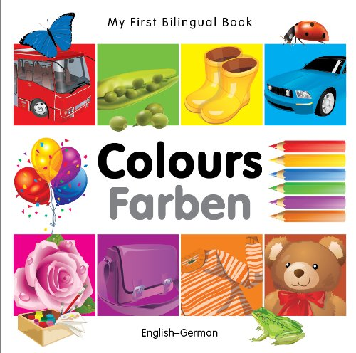 9781840595369: My First Bilingual Book-Colours (English-German)
