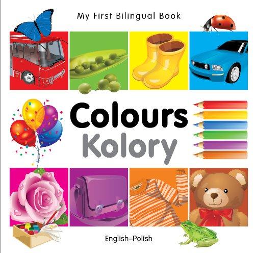 9781840595383: My First Bilingual Book–Colours (English–Polish)