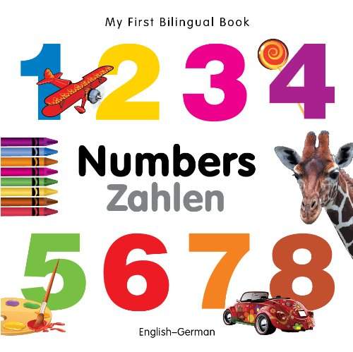 9781840595420: My First Bilingual Book–Numbers (English–German)