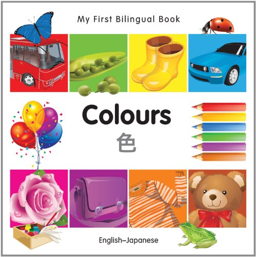 9781840595635: My First Bilingual Book–Colours (English–Japanese)