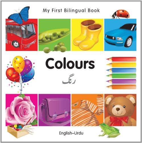 9781840595680: My First Bilingual Book–Colours (English–Urdu)