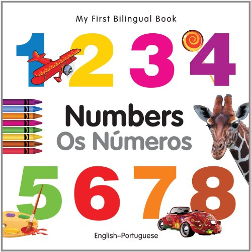 9781840595758: My First Bilingual Book-Numbers (English-Portuguese) (My First Bilingual Board Book)