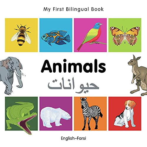 9781840596113: My First Bilingual Book–Animals (English–Farsi)
