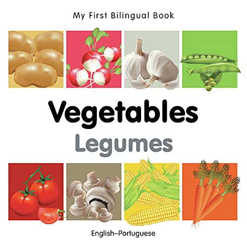 9781840596656: My First Bilingual Book-Vegetables (English-Portuguese)