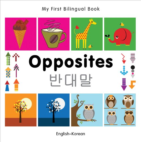 9781840597394: My First Bilingual Book–Opposites (English–Korean)