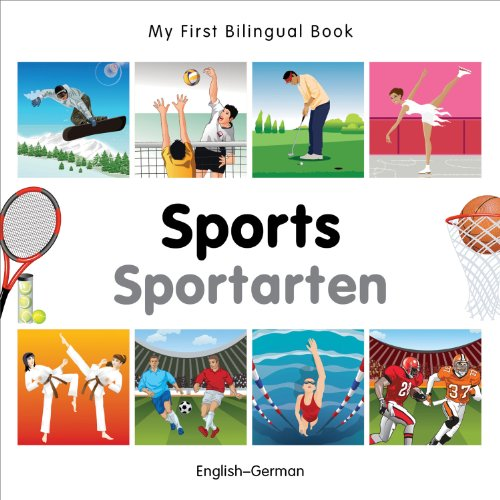 9781840597530: My First Bilingual Book–Sports (English–German)