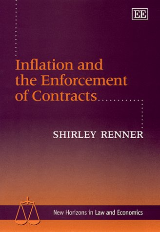 9781840640625: Inflation and the Enforcement of Contracts (New Horizons in Law and Economics Series)