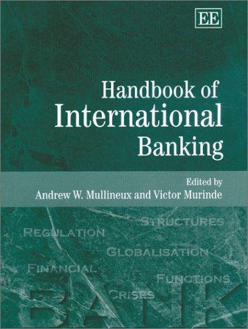 9781840640939: Handbook of International Banking