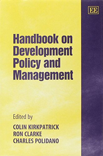 9781840641424: Handbook on Development Policy and Management