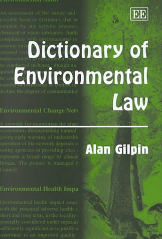 9781840641882: Dictionary of Environmental Law