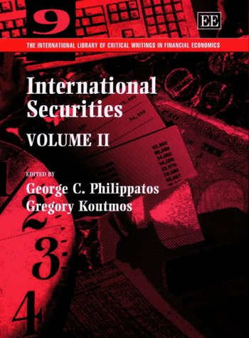 International Securities: Philippatos, George (EDT)/ Koutmos, Gregory (EDT)