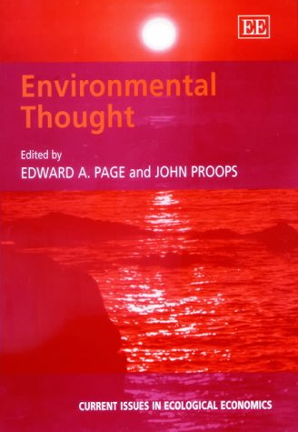 Environmental Thought: Page, Edward A. (EDT)/ Proops, John (EDT)