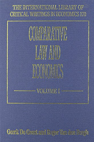 Comparative Law and Economics (Hardback)