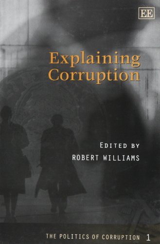 9781840644890: The Politics of Corruption: Explaining Corruption No. 1 (Elgar Mini Series)