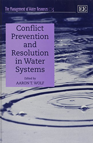 Conflict Prevention and Resolution in Water Systems: Wolf, Aaron T. (EDT)