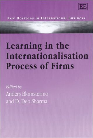 9781840646627: Learning in the Internationalisation Process of Firms (New Horizons in International Business)