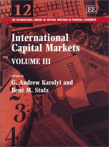 International Capital Markets (Hardback)