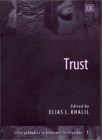 Trust (Hardcover): Bart Nooteboom