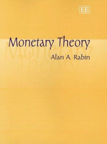9781840647440: Monetary Theory