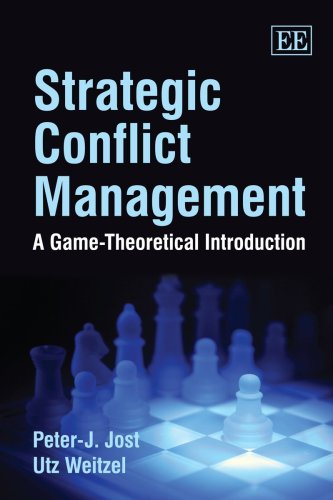 9781840648379: Strategic Conflict Management: A Game-Theoretical Introduction