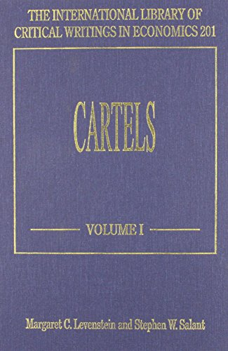 9781840648638: Cartels (International Library of Critical Writings in Economics)