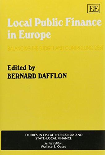 Local Public Finance in Europe: Dafflon, Bernard (EDT)