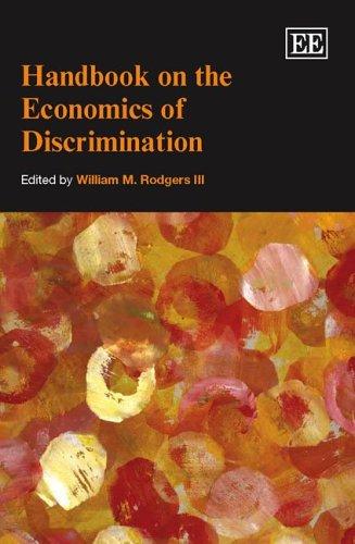 9781840649154: Handbook on the Economics of Discrimination (Elgar Original Reference)