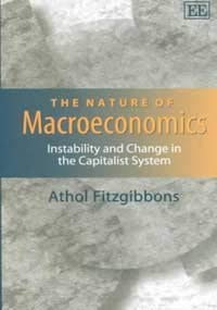 9781840649338: The Nature of Macroeconomics: Instability and Change in the Capitalist System (Elgar Monographs)