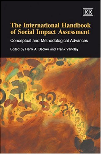 9781840649352: The International Handbook of Social Impact Assessment: Conceptual and Methodological Advances
