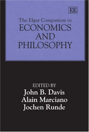 The Elgar Companion To Economics And Philosophy: Davis, John Bryan (EDT)/ Marciano, Alain (EDT)/ ...