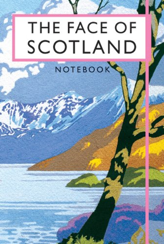 9781840655889: The Face of Scotland Notebook (Beautiful Britain Vintage Notebooks)