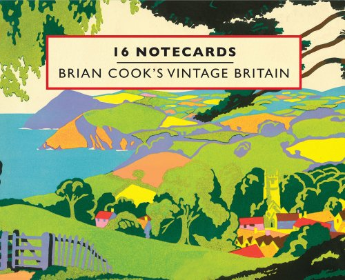 Brian Cook's Vintage Britain:16 Notecards: Cook, Brian